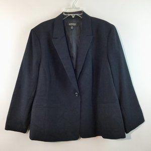 kasper one button long sleeves jacket Size 22W